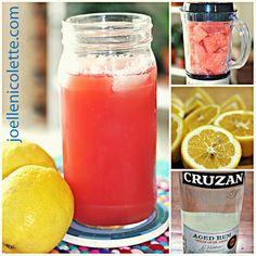 Joelle Nicolette : Watermelon & Lemonade Cocktail Recipe