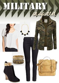 military look by http://1dame2dogs3designs.tumblr.com/