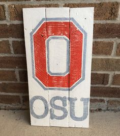 Ohio state university sign by countrycornergoods on Etsy
