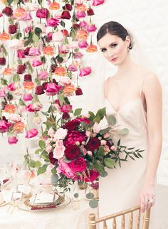 English Rose Inspired Editorial | The Bold + The Beautiful, Toast Events, Wedecor, Melanie Rebane Photography