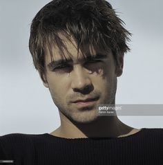 Actor Colin Farrell photographed for Interview Magazine on September 19, 2000 in New York City.