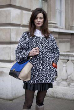 Street Fashion  London Fashion Week   Fall 2012
