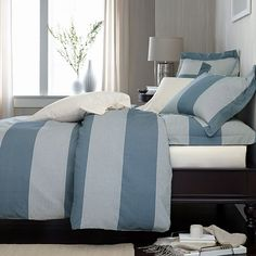 Osborne Yarn-Dyed Striped Sheets & Bedding Set | The Company Store
