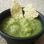 Green Salsa. We enjoy this recipe as it is and as a base, depending on the ingredients we have. Tastes great roasting the veggies prior to blending them up. I hope you enjoy it as much as we do! :D