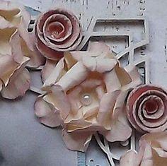 Paper Flower Tutorial  Vintage Rose
