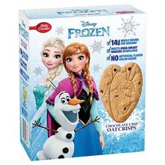 Betty Crocker Snacks Disney Frozen Chocolate Chip Oat Crisps, 8 Count (Pack of Disney Frozen Food, Frozen Toys, Minnie Mouse Cookies, Minnie Mouse Toys, Fathers Day Cupcakes, Kids Toy Shop, Bebidas Do Starbucks, Smart Snacks, Baby Doll Accessories