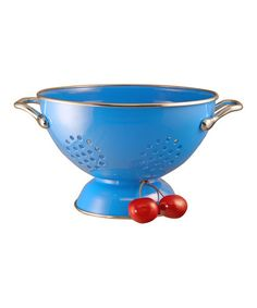 Take a look at this Azure 1.5-Qt. Colander by Reston Lloyd on #zulily today!