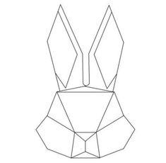 Tattoo Geometric Animal Rabbit Art Prints 25 Ideas #tattoo