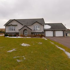 1645 Abrams Village Road, Abrams Village, PEI, $179,000.   House for sale on large lot with double heated garage.