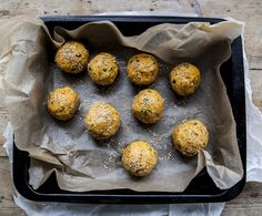 Vegan Sweet Potato & Sesame Falafel (gluten free, dairy free, vegan, vegetarian) - Dry falafel is a thing of the past with these beauties.  Take them to BBQ's, pop them in lunch boxes, and keep them in the fridge for a healthy snack. Full recipe: http://po.st/hS6Pjp