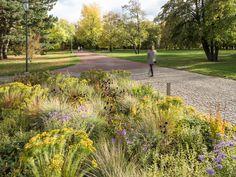 Šmídová Landscape Architects Park Landscape, Landscape Architects, Parks, Sidewalk, Country Roads, Ideas, Side Walkway, Walkway, Thoughts