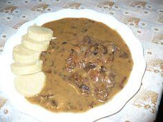 No Salt Recipes, Snack Recipes, Snacks, Czech Recipes, Oatmeal, Stuffed Mushrooms, Beef, Meals, Cooking