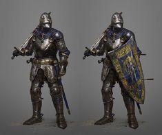 ArtStation - The Hundred Years' War, Julian Wicik