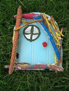 WhiMSy love: Whimsical Fairy Doors Tutorial-great children inspirational ideas