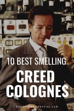 Discover our 10 favorite best-smelling Creed fragrances and how wear them. Perfume Diesel, Perfume And Cologne, Men's Cologne, Creed Perfume, Creed Fragrance, Creed Cologne, Perfume Versace, Trends