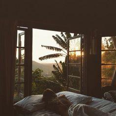 Morning sunrise via Studded Hearts