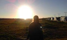 Por do sol numa praia no Algarve! ♡♥