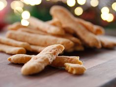 Cayenne Cheese Straws recipe from Ree Drummond via Food Network
