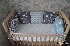 Бортики в кроватку для новорожденного на заказ купить в Санкт-Петербурге на…