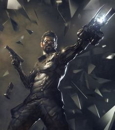 ArtStation - Deus Ex: Mankind Divided Reveal, Frédéric Bennett