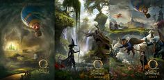 Walt Disney Pictures.  2013.  Movie Posters.  From: Oz the Great and Powerful.