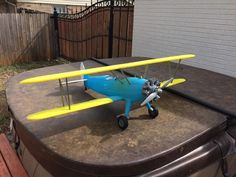 RC model Stearman PT-17 Kaydet by Wade Sims #practical #toysandgames