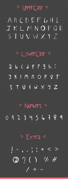 HerCoffee Font Letters
