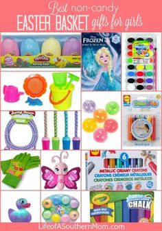 Easter Basket Gifts For Girls