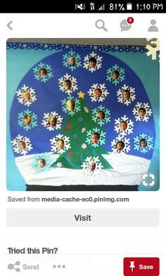 December Bulletin Boards, Christmas Bulletin Boards, Christmas Classroom Door, Preschool Bulletin Boards, Preschool Christmas, Christmas Activities, Winter Activities, Christmas Art, Preschool Crafts