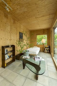 very nice wood finish in container home Building A Container Home, Container Buildings, Container Architecture, Container House Plans, Container Shop, Container House Design, Tiny House Cabin, Tiny House Plans, Shipping Container Office