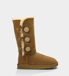 UGG Australia's tall sheepskin button boot for women – the #Bailey Button Triplet