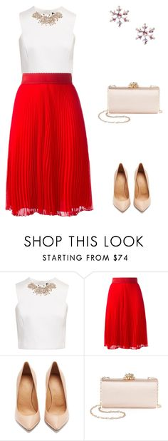 """""""natal 3"""" by caroltips ❤ liked on Polyvore featuring Ted Baker, Givenchy, Maison Margiela and La Regale"""