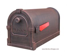 The Savannah Mailbox is a solid cast aluminum post mount mailbox available in 11 colors with an optional newspaper holder. Mounted Mailbox, Aluminium Doors, Savannah Chat, It Cast, Outdoor Decor, Letter Boxes, Houses, Aluminum Gates
