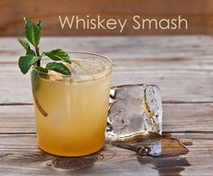 Whiskey Smash (adapted from Jerry Thomas, How To Mix Drinks, 1862 ...