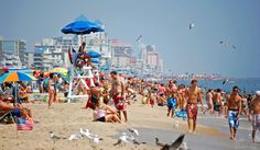 Top 10 Weekend Getaways for Summer 2016  -      5. Ocean City, Maryland  -     In addition to the town's famous boardwalk, tourists can check out pro skateboarders at the Ocean Bo... - flickr/Ben Beard