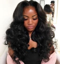 1022 Best Sew-in Hairstyles images | Hairdos, Curls, Natural hair styles