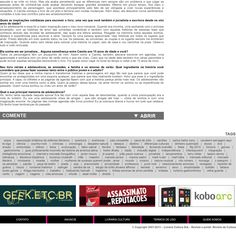 Revista da Cultura magazine / Livraria Cultura bookstore - Part 2