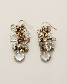 Chico's Paris Cluster Earring #chicos