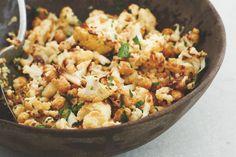 Kijk wat een lekker recept ik heb gevonden op Allerhande! Gwyneth Paltrows gebakken bloemkool