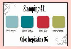 Stamping 411 Color Inspiration 167