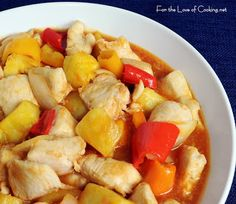 For the Love of Cooking » Sweet and Sour Chicken