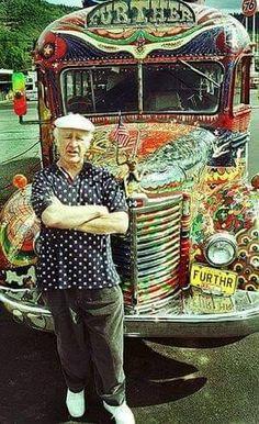 Ken Kesey e os Merry Pranksters Hippie Life, Hippie Art, Hippie Style, Rock N Roll, Ken Kesey, Hippie Culture, Beat Generation, Estilo Hippie, Age Of Aquarius