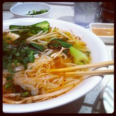 Pho is one of my favorites