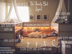 Ist das das gemütlichste Familienbett der Welt?                                                                                                                                                                                 Mehr