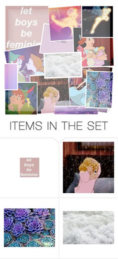 """""""Peter Pan collage"""" by creations-by-tabi ❤ liked on Polyvore featuring art"""