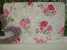 Floral memo board | eBay UK