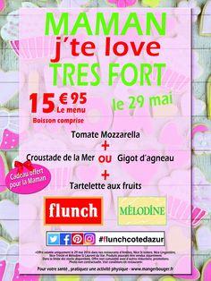 C'est la fête des mères ce week-end et l'ensemble des restaurants de la Côte d'Azur vous attendent nombreux mesdames à #Antibes, #Lingostière, #StIsidore, #Trinité et #Cap3000. #flunch #melodine #flunchcotedazur Nous sommes aussi sur #instagram #facebook et #twitter.