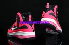 pretty nice 653b1 1a6b7 Nike Lebron 9 Kids Shoes Pink Black Kids Basketball Shoes  Pink  Womens