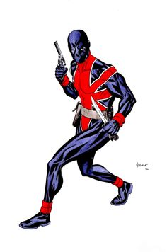 Union Jack by Mike McKone
