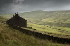 """richard-littlewood: """" New Nook. Windy hills. A great little ruin tucked under the banking of the M62 as it climbs up from Lancashire into Yorkshire. www.richard-littlewood.com """""""